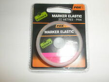 Fox Edges Marker Elastic Pink 20m Carp fishing tackle