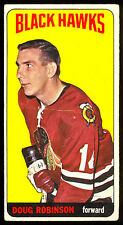 1964 65 TOPPS TALL BOYS HOCKEY 84 DOUG ROBINSON ROOKIE VG-EX CHICAGO BLACK HAWKS