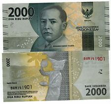 Indonesie INDONESIA Billet 2000 RUPIAH 2016 PNL NEW NOUVEAU MH THAMRIN  NEUF UNC