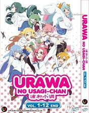 DVD Japan Anime URAWA No Usage-Chan Complete Series (1-12 End) English Sub NEW