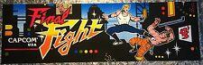 "Final Fight Arcade Marquee 26""x8"""