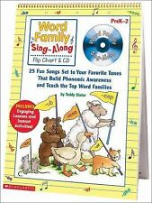 Sing-along Flip Chart and CD Ser.: Word Family Sing-Along : 25 Fun Songs Set...