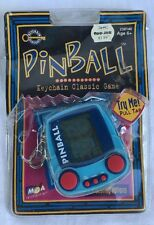 Pinball Classic Keychain Game Electronic Travel Handheld 1999 MGA  Multi Levels