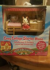 New Calico Critters Cozy Cottage Starter Home Furniture Set CC2055, 2 AVAILABLE