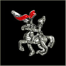 red Knights Title Pin JACKET VEST BIKER PIN