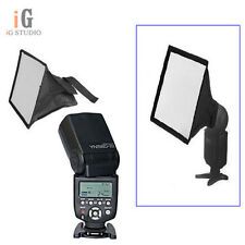 Yongnuo YN560III Flash Light Speedlite + 30 x 20cm Softbox Dis for Canon Nikon