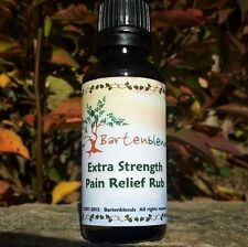 Topical Pain Reliever - Analgesic Muscle Rub - All Natural - Bartenblends