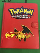 Pokemon Master Quest Charizard Binder (rare 2002)