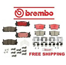 Genuine Brembo Front + Rear Brake Pads Toyota Camry Avalon ES350