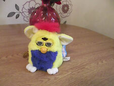 ORIGINAL FURBY  BABY BABIES 6 INCH TALL ALL TAGS ATTACHED YELLOW&BLUE