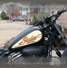 ADESIVI DECAL STICKERS GOCCIA SERBATOIO HONDA SHADOW MOTO CUSTOM CHOPPER