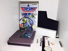 Top Gun Second Boxato Perfetto Nintendo Nes Cartuccia Italiana Pal A + Manuale