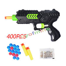 Water Crystal Gun 2-in-1 Paintball Gun Soft Bullet Gun Pistol Toy CS Game Toy