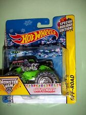 HOT WHEELS MONSTER JAM  Grave Digger  SPECIAL HOLIDAY EDITION  WALMART EXCLUSIVE