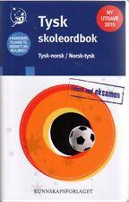 Wörterbuch Ordbok NORWEGISCH Tysk-Norsk / Norsk-Tysk Skoleordbok 30000 Wörter