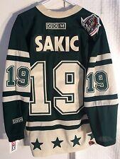 CCM Classic NHL Jersey Colorado Avalanche Sakic Green sz 2X