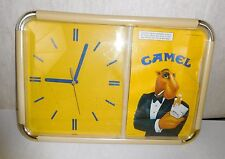 VINTAGE JOE CAMEL CIGARETTE 1991 WALL CLOCK BAR SIGN