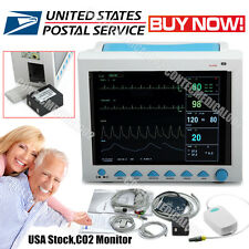 FDA CE CO2 Monitoring ICU CCU Patient Monitor Vital Signs Monitor with ETCO2, US