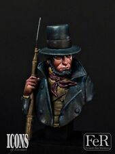 FeR Captain Ahab from Moby Dick 1/12th bust Unpainted resin kit