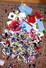 Miscellaneous LEGO pieces (18-19 lbs, Duplo, Family, mini-figures) all mixed