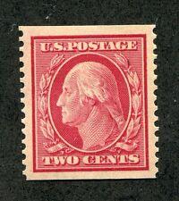(1909) #353 2¢ Washington unused XF/SUPERB coil stamp