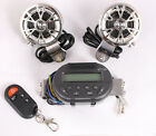 Handlebar Remote Radio Audio Speaker Motorcycle MP3 Stereo Amplifier For Harley