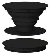 1 Popsocket Mobile / Tablet / iPhone Holder Grip Pop socket - Black Retail Pack