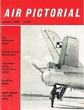 AIR PICTORIAL JAN 60: WHIRLWIND & WELKIN STORY/ THUNDERSTREAK + PLAN/ F.B.26
