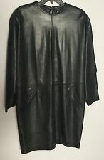 Pre-Owned Women's Leather Dress by Gucci size 42 made in Italy