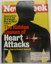 Newsweek Magazine The Causes Of Heart Attacks August 1997 WITH ML 042215R
