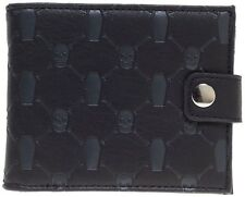 Sourpuss Grave Digger Black Bi Fold Wallet NEW Kustom Kreeps Punk Coffin Greaser