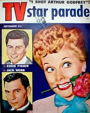 Lucille Ball Desi Arnaz Magazine 1954 TV Star Pararde Betty White Marilyn Monroe