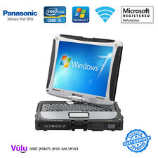 GRADE A PANASONIC TOUGHBOOK CF-19 LAPTOP / CORE i5 / 8GB / 128GB SSD / WIN 7 (A)