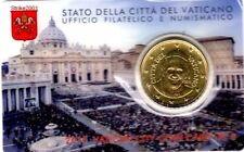 COIN CARD 50 EURO CENT VATICANO 2015 N° 6