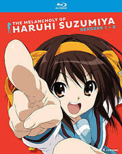 THE MELANCHOLY OF HARUHI SUZUMIYA: SEASONS ONE & TWO NEW (4) BLU-RAY (1) DVD