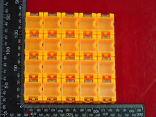 Yellow 20PCS SMD SMT Electronic Case Box Kits Components Storage Container#CG404