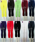 Plain Stretch LEGGINGS Skinny FOOTLESS Pant ONE SIZE(fits S,M,L,XL) EX901