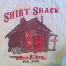 SHIRT SHACK T-SHIRT SIZE Large Jessica Rabbit Short Sleeve EUC Screen Printing