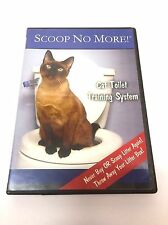 Scoop No More Cat Toilet Training System Instructional DVD