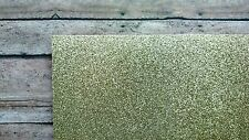 "10 sheets GOLD GLITTER SCRAPBOOK CARDSTOCK 12"" X 12""  paper crafting school"