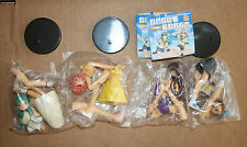 Gashapon, Trading Figure, lot 4 figurines Please Teacher/Twins, CM'S Work