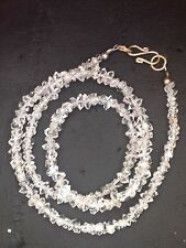 Diamond Quartz Crystal Beads Necklace (10.0g)