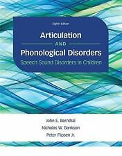 Articulation and Phonological Disorders : Speech Sound Disorders in Children 8E