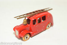 DINKY TOYS 250 FIRE ENGINE VAN RED NEAR MINT CONDITION REPAINT