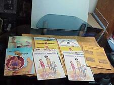 #814 LOT 13 UNIVERSITY HIGH SCHOOL BASKETBALL 1980S GAME BOOKS VS PALISADES WEST