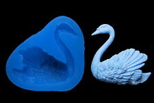 Sugarcraft Silicone Molds Sugarpaste Animal Mold Fondant Mould polyer Clay Swan