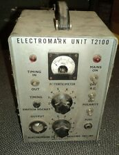 altes technisches Gerät Metall Markierungsgerät ? Elekctromark Unit T2100