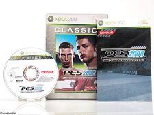 PES-Pro Evolution Soccer 2008 OVP/Inst. + XBOX 360 + gioco.