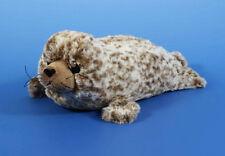 ROBBE, Seehund Plüschtier Stofftier Plüsch Kuscheltier braun-gefleckt 30cm