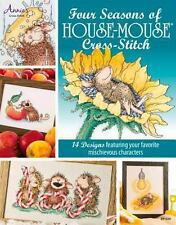 Four Seasons of Cross-Stitch by Mouse-House Designs by Annie's (2014, Paperback)